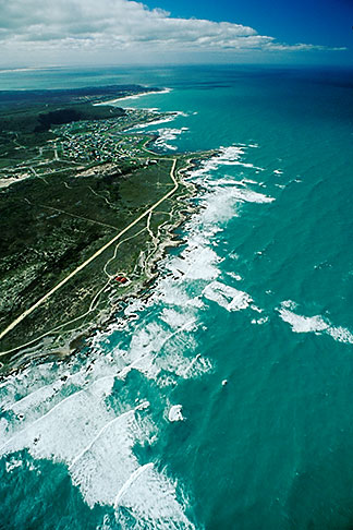 image 7-447-36 South Africa, Eastern Cape, Aerial view of Cape Agulhas
