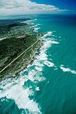seacoast stock photography | South Africa, Eastern Cape, Aerial view of Cape Agulhas, image id 7-447-36