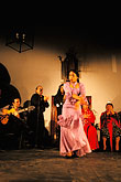 woman stock photography | Spain, Jerez, Zambra del Sacromonte, flamenco group, image id 1-200-45