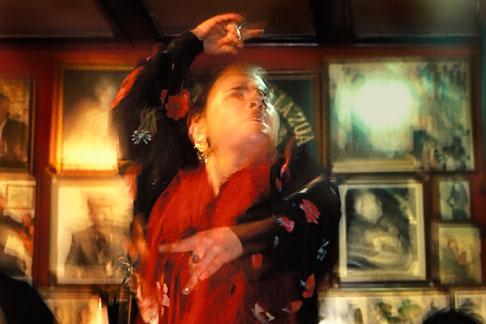 image 1-200-6 Spain, Jerez, Pena la Zua, Flamenco festival