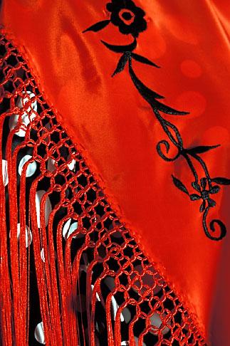 image 1-202-92 Spain, Jerez, Calle de Flamenco, dress shop