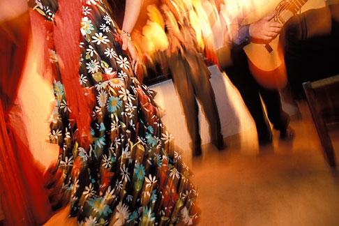 image 1-203-72 Spain, Jerez, Pena la Buena Gente, flamenco