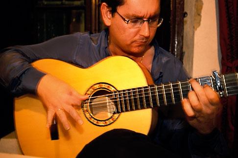 image 1-204-17 Spain, Jerez, Pena la Buena Gente, flamenco