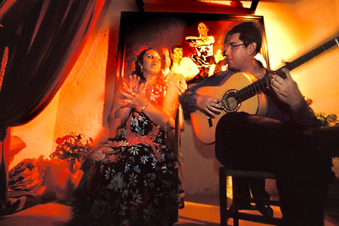 image 1-204-4 Spain, Jerez, Pena la Buena Gente, flamenco