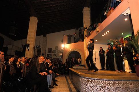 image 1-204-58 Spain, Jerez, Pena Antonio Chacon, flamenco