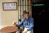 hat stock photography | Spain, Jerez, Cafe Tutinaja, image id 1-204-62