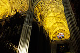 lights stock photography | Spain, Seville, Sevilla Cathedral, image id 1-251-94