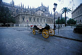 carriage stock photography | Spain, Seville, Sevilla Cathedral, image id 1-251-95