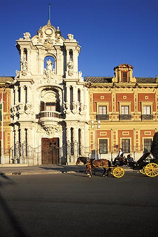 image 1-253-39 Spain, Seville, Palacio de San Telmo