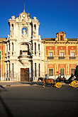 downtown district stock photography | Spain, Seville, Palacio de San Telmo, image id 1-253-39