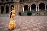 one lady stock photography | Spain, Seville, Flamenco dancer, image id 1-254-77