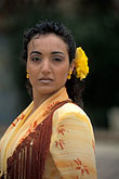 one lady stock photography | Spain, Seville, Flamenco dancer, image id 1-254-94