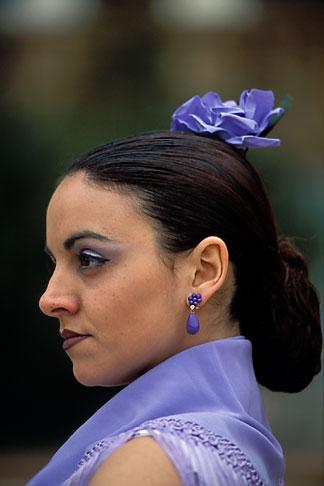 image 1-255-26 Spain, Seville, Flamenco dancer