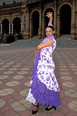 one lady stock photography | Spain, Seville, Flamenco dancer, image id 1-255-34