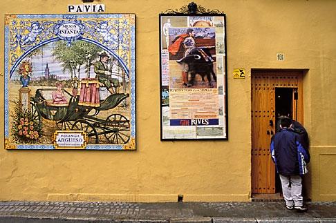 image 1-256-99 Spain, Seville, Street scene