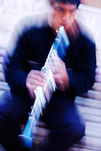 image S4-530-8932 Spain, Malaga, Street musician
