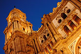 dark stock photography | Spain, Malaga, Cathedral, image id S4-531-9086