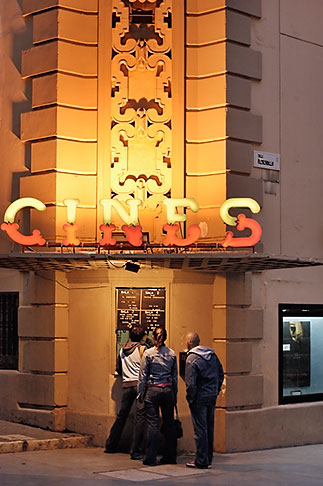 image S4-533-9635 Spain, Malaga, Cinema
