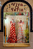 shop window stock photography | Spain, Malaga, Dresses, image id S4-533-9642