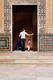 decorated door stock photography | Spain, Granada, Mother and Child, Palacio Nazaries, The Alhambra, image id S4-540-9756