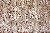 close up stock photography | Spain, Granada, Wall Detail, The Alhambra, image id S4-540-9856