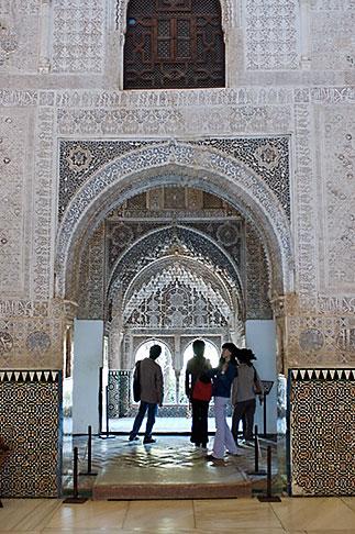 image S4-540-9889 Spain, Granada, Palcio Nazaries, The Alhambra