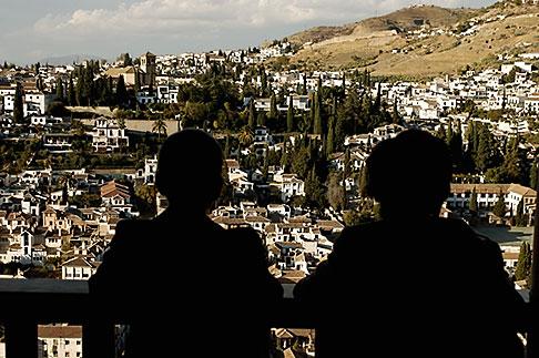 image S4-540-9898 Spain, Granada, Looking at View of Sacramonte