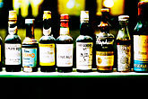 alcohol stock photography | Spain, Granada, Bottles in window, image id S4-540-99