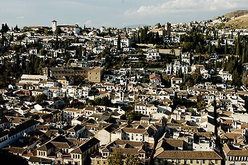 image S4-540-9901 Spain, Granada, View of Sacramonte