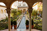 wet stock photography | Spain, Granada, Generalife, The Alhambra, image id S4-540-9987
