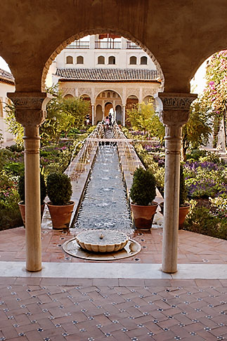 image S4-540-9989 Spain, Granada, Generalife, The Alhambra