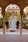 wet stock photography | Spain, Granada, Generalife, The Alhambra, image id S4-540-9989