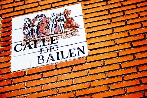 image S4-545-878 Spain, Madrid, Streetsign