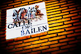 bailem stock photography | Spain, Madrid, Streetsign, image id S4-545-999