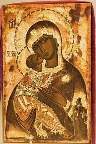 image 4-979-7622 Religious art, Icon of Madonna
