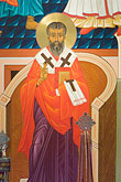 saint gregory nyssen stock photography | California, San Francisco, Icon, Saint Gregory Nyssen,, image id 5-820-3680