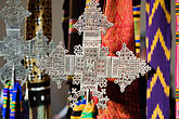 art stock photography | Religious Art, Crosses and textiles, image id 5-820-3734