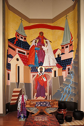 image 6-122-13 California, San Francisco, Icon, St Gregory Nyssen Episcopal Church
