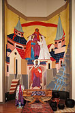 trinitarian stock photography | California, San Francisco, Icon, St Gregory Nyssen Episcopal Church, image id 6-122-13