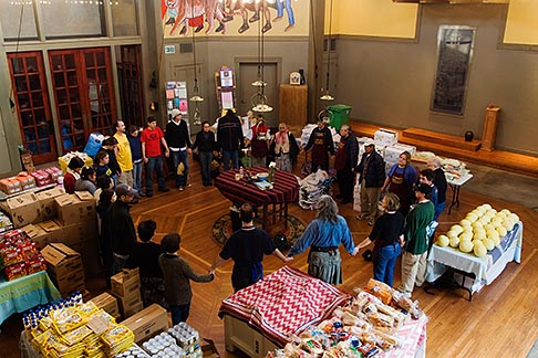 California San Francisco Church Food Pantry For Homeless David