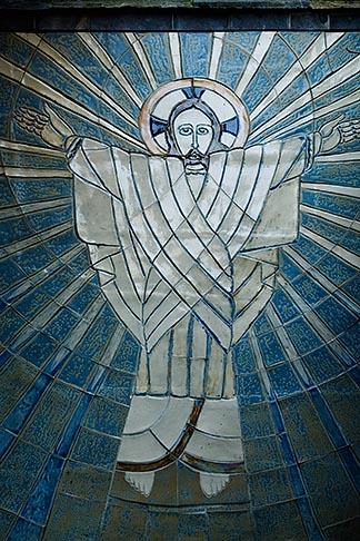 image 6-410-4152 Religious art, Wall mosaic, Jesus