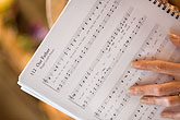 horizontal stock photography | Music, Musician with score, image id 6-435-5439