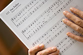 score stock photography | Music, Musician with score, image id 6-435-5449