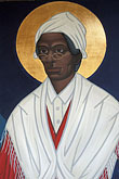bay area stock photography | California, San Francisco, Icon � Sojourner Truth,  St Gregory Nyssen Episcopal Church, image id 7-391-10
