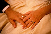 sensitive stock photography | Weddings, Bride and groom, hands and rings, image id 8-509-80