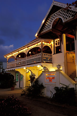 image 3-611-3 St Vincent, Bequia, Port Elizabeth, Gingerbread restaurant and bar