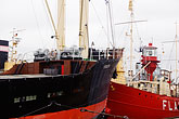 work boat stock photography | Sweden, G�teborg, G�teborg Maritime Centre, Floating ship museum, image id 5-700-2053