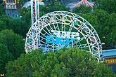 west sweden stock photography | Sweden, G�teborg, Ferris wheel, Liseberg Amusement Park, image id 5-700-4723