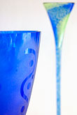 blue stock photography | Sweden, G�teborg, Glass goblets, Helena Gibson Studio, image id 5-700-4751