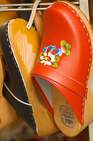 image 5-700-4778 Sweden, Red clogs